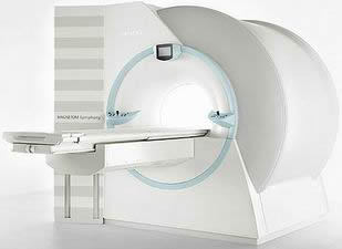 An apparatus for diagnostics of magnetic resonance imaging (MRI studies).